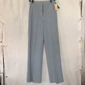 LAUNDRY heather light gray thin stretch wide pants